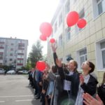 Церемония открытия школьного тира